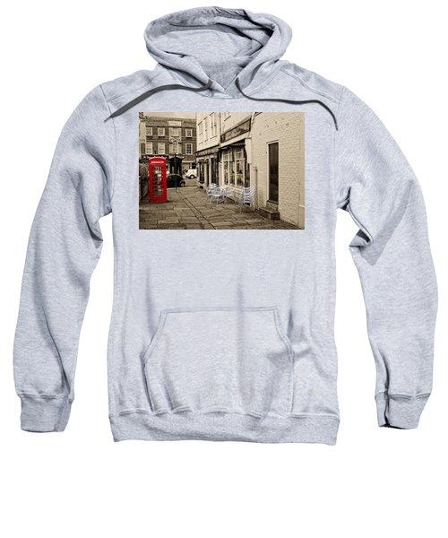Red Telephone Box Sweatshirt
