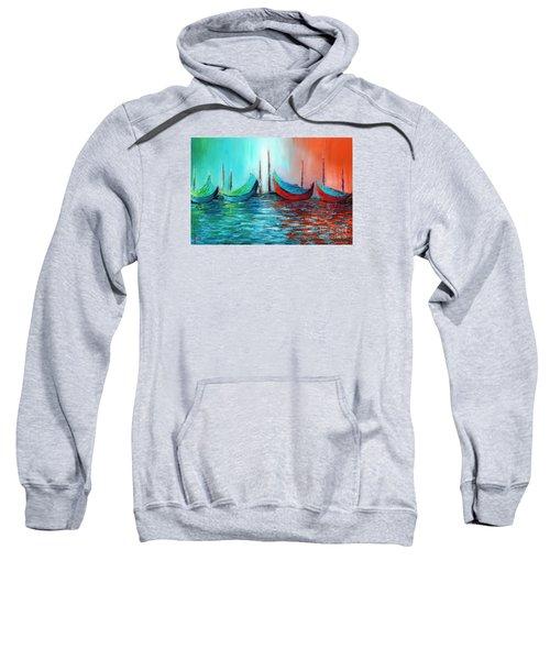 Reflecting Down Sweatshirt