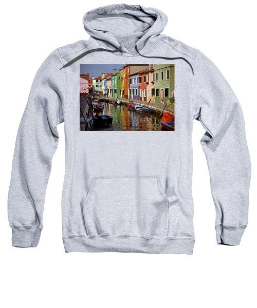 Reflections Of Burano Sweatshirt