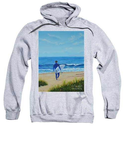 Returning To The Waves Sweatshirt