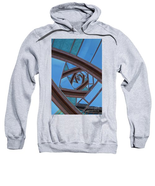 Revolving Blues. Sweatshirt by Clare Bambers
