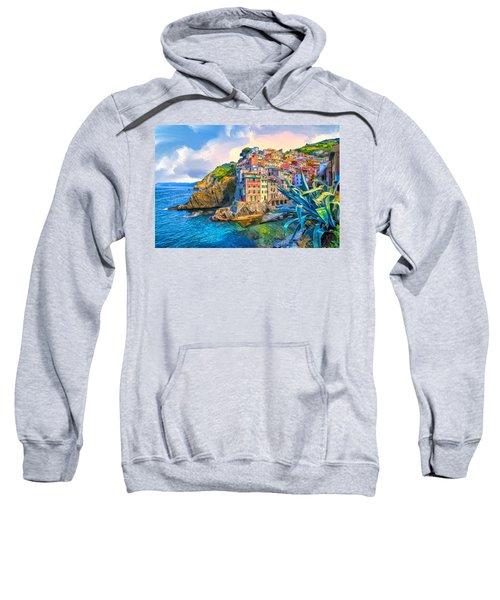 Riomaggiore Morning - Cinque Terre Sweatshirt