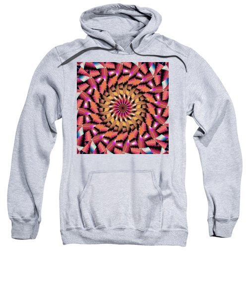 Rippled Source Kaleidoscope Sweatshirt