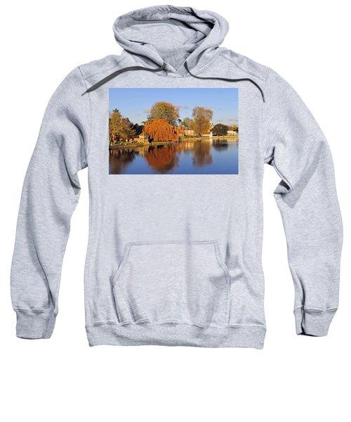 River Thames At Marlow Sweatshirt