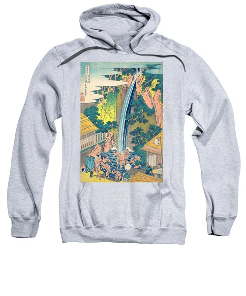 Roben Waterfall At Oyama In Sagami Province Sweatshirt
