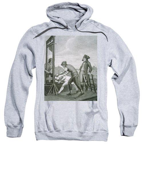 Robespierre 1758-1794 Dies On The Guillotine Sweatshirt