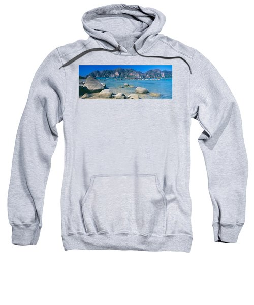 Rocks On The Coast, Phi Phi Islands Sweatshirt