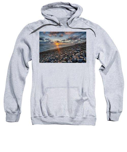 Rocky Coast Sunset Sweatshirt