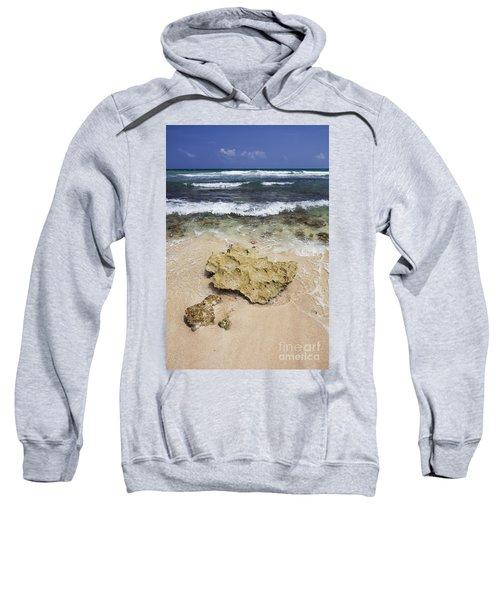 Rocky Shoreline In Tulum Sweatshirt