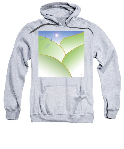 Rolling Hills - When The Skies Are Blue Sweatshirt