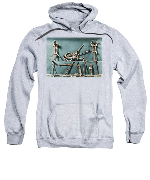 Roman Surgical Instruments, 1st Century Sweatshirt