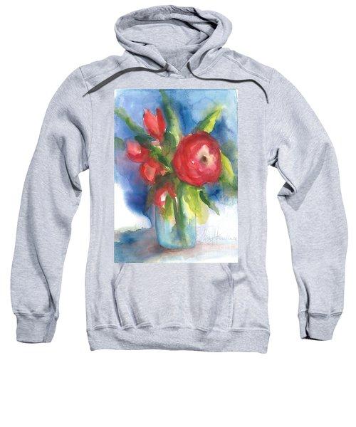 Rose Blooming Sweatshirt