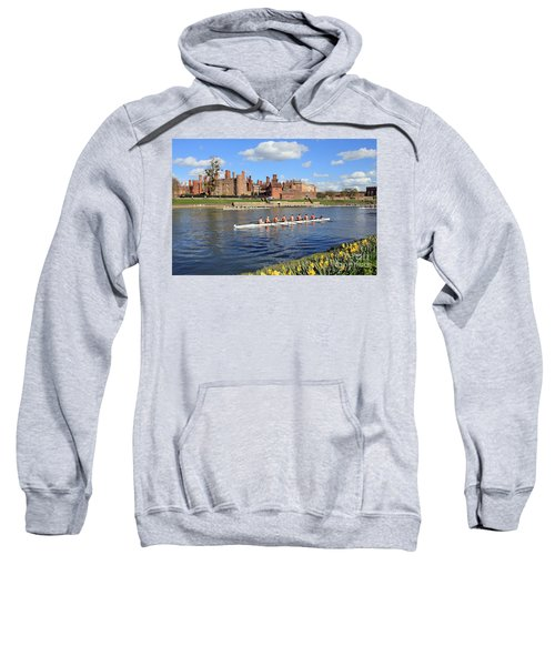 Rowing On The Thames At Hampton Court Sweatshirt