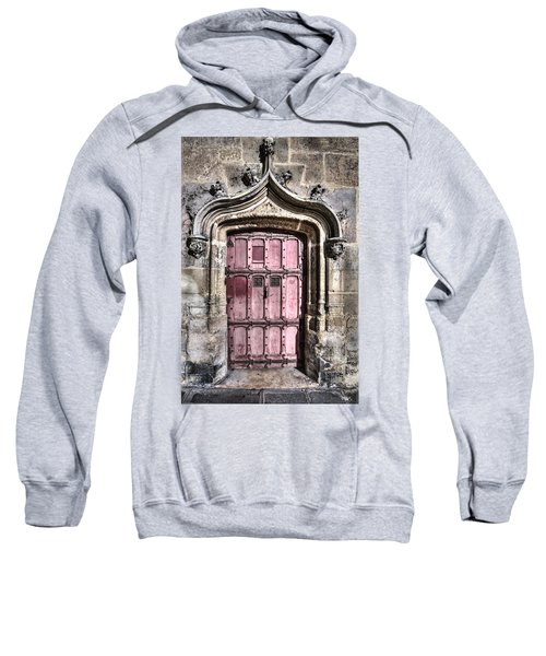 Ruins With Red Door Sweatshirt