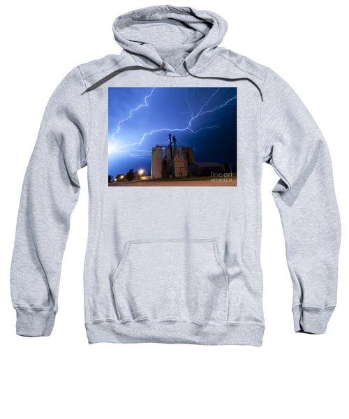 Rural Lightning Storm Sweatshirt