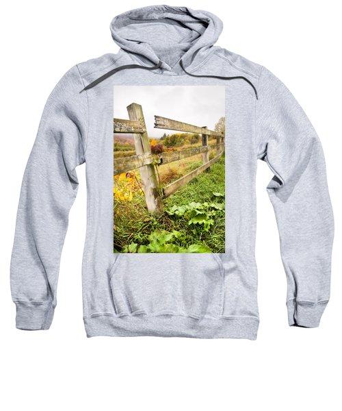 Rustic Landscapes - Broken Fence Sweatshirt