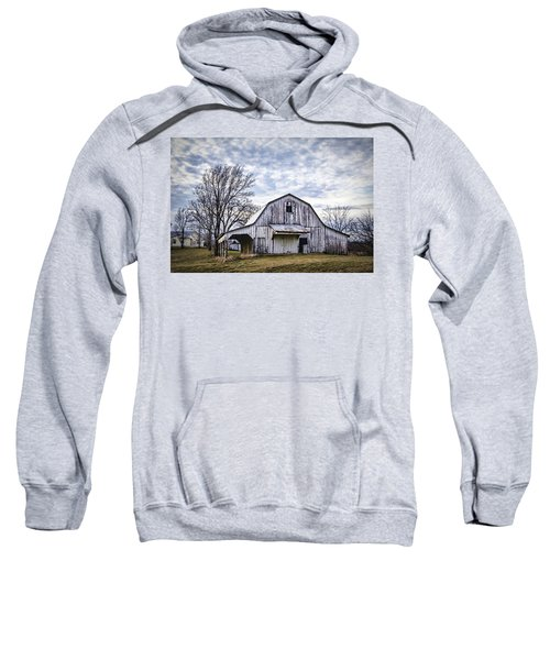 Rustic White Barn Sweatshirt