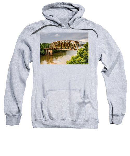 Rusty Old Railroad Bridge Sweatshirt