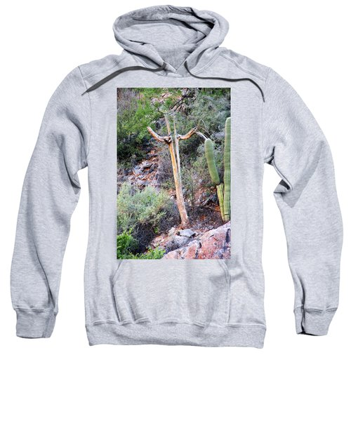 Saguaro Skeleton Sweatshirt