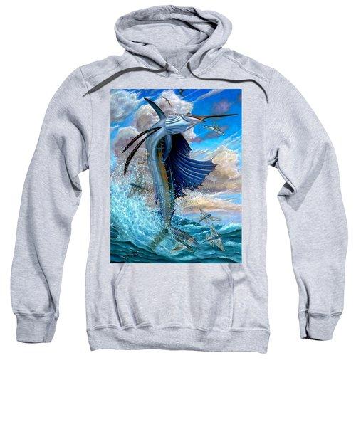 Sailfish And Flying Fish Sweatshirt