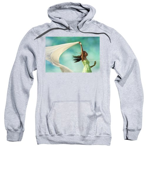 Sailing A Favorable Wind Sweatshirt