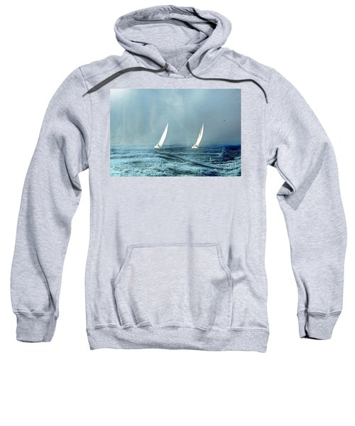 Sailing Into The Unknown Sweatshirt