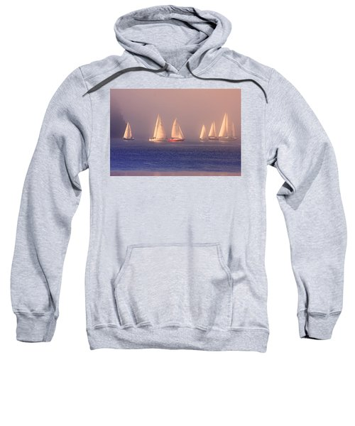 Sailing On A Misty Ocean Sweatshirt