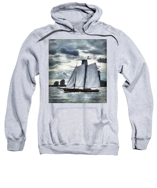 Sailing On The Hudson Sweatshirt