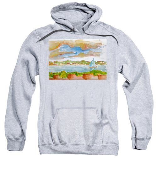 Sailing On The River Sweatshirt