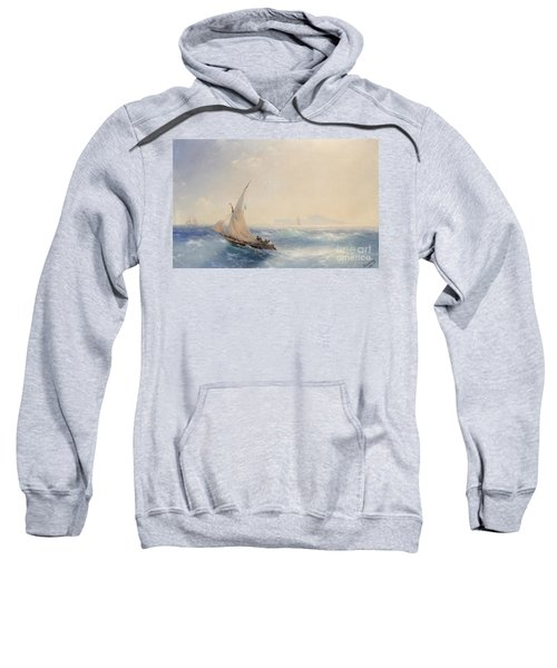 Shipping Off The Island Of Ischia Sweatshirt