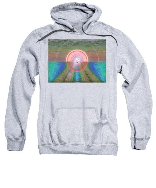 Sailors Warning Sweatshirt by Tim Allen