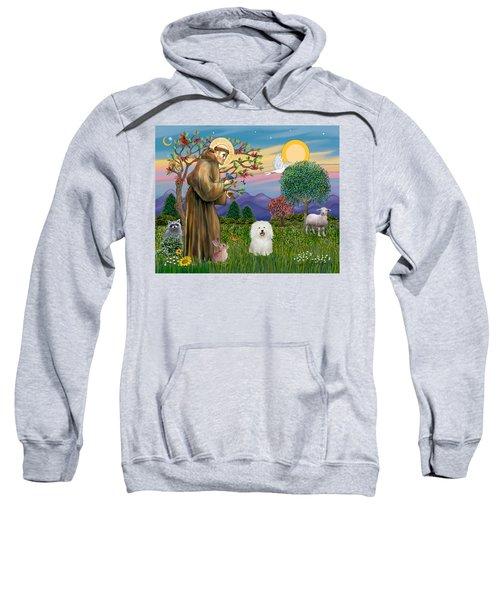 Saint Francis Blesses A Bolognese Sweatshirt