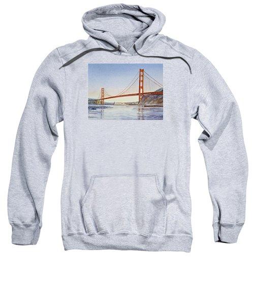 San Francisco California Golden Gate Bridge Sweatshirt