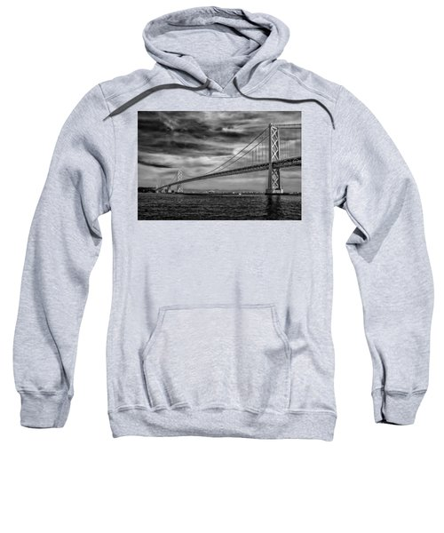 San Francisco - Oakland Bay Bridge Sweatshirt