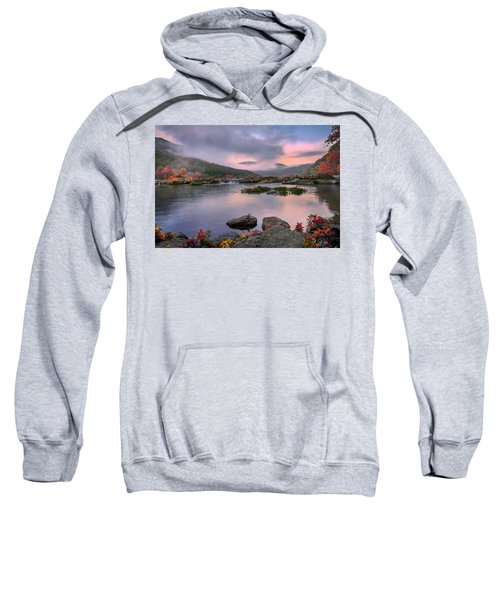 Sandstone Falls At Dawn Sweatshirt