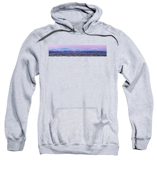 Sangre De Cristo Range After Sunset Sweatshirt