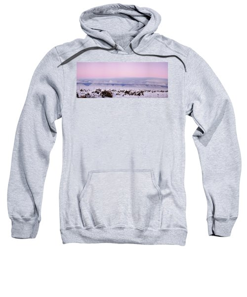 Sangre De Cristo Range With Clouds Sweatshirt
