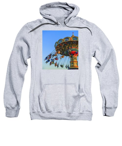 Santa Cruz Seaswing At Sunset 5 Sweatshirt