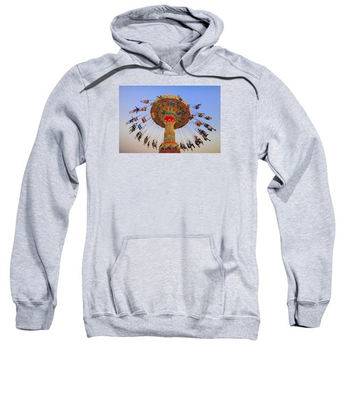 Santa Cruz Seaswing At Sunset 9 Sweatshirt