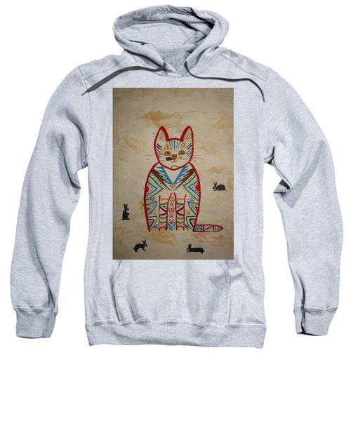 Sarah's Cat Sweatshirt