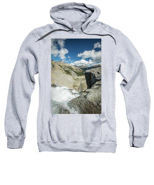 Scenes From Bow Glacier, Banff Sweatshirt