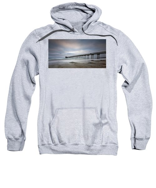 Scripps Pier Wide -lrg Print Sweatshirt