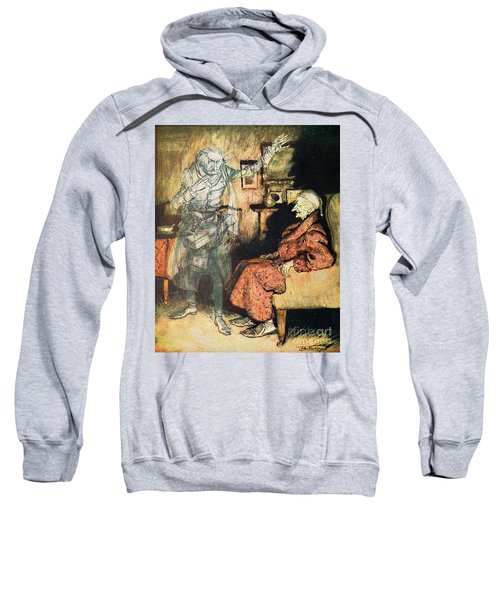 Scrooge And The Ghost Of Marley Sweatshirt