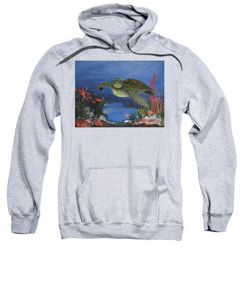Sea Turtle In Paradise Sweatshirt