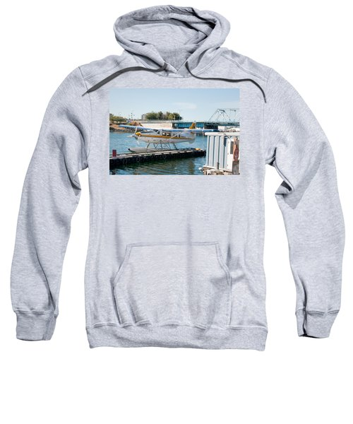 Seaplane In Victoria Harbour Sweatshirt