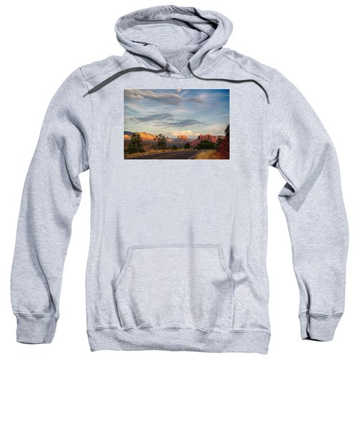 Sedona Arizona Allure Of The Red Rocks - American Desert Southwest Sweatshirt