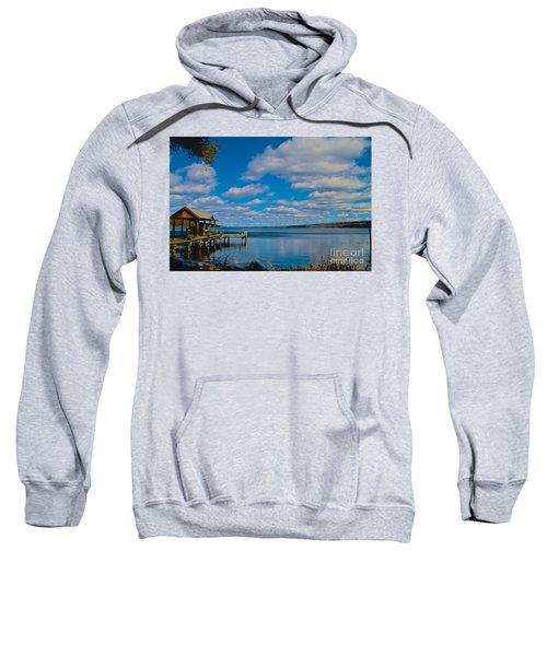 Seneca Lake At Glenora Point Sweatshirt