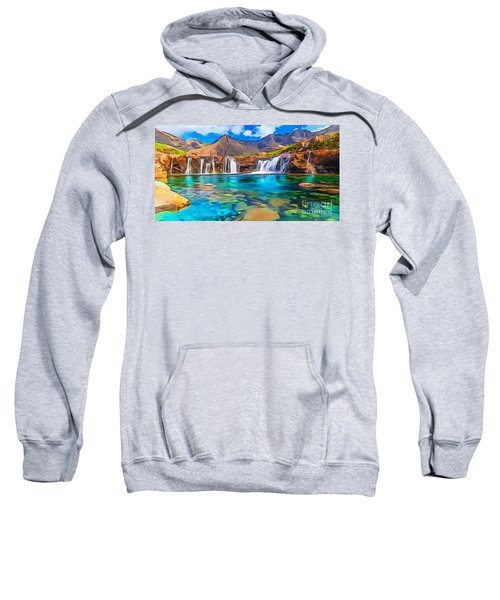 Serene Green Waters Sweatshirt
