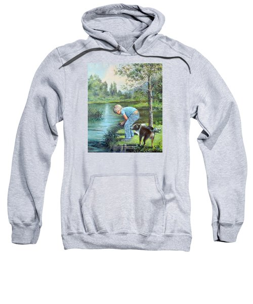 Seth And Spiky Fishing Sweatshirt