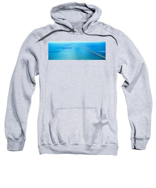 Seven Miles Bridge Florida Keys Fl Usa Sweatshirt